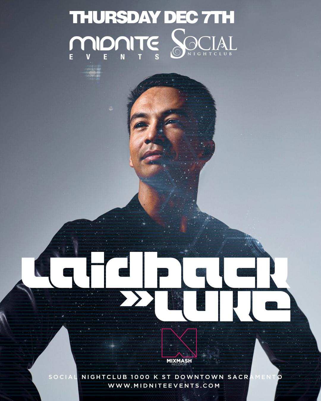 Laidback Luke Social 2017