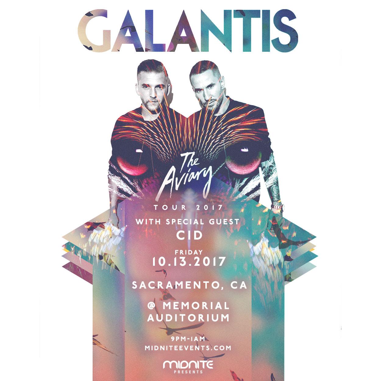 Galantis Sacramento 2017