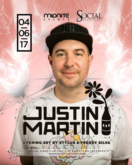Justin Martin Sacramento 2017