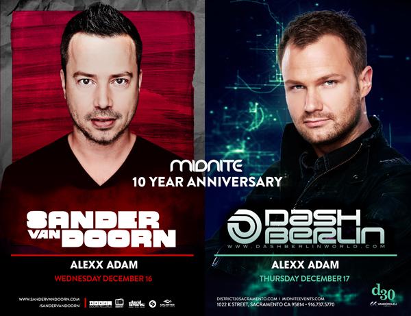 Midnite Events 10 Year Anniversary!