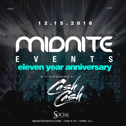 Midnite Events 11 Year Anniversary!