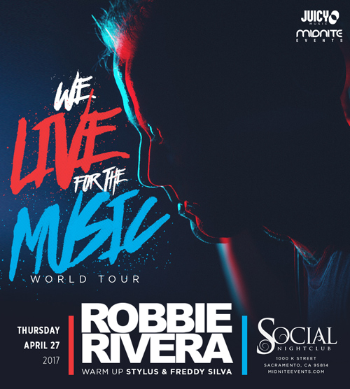 Robbie Rivera 2017 tickets