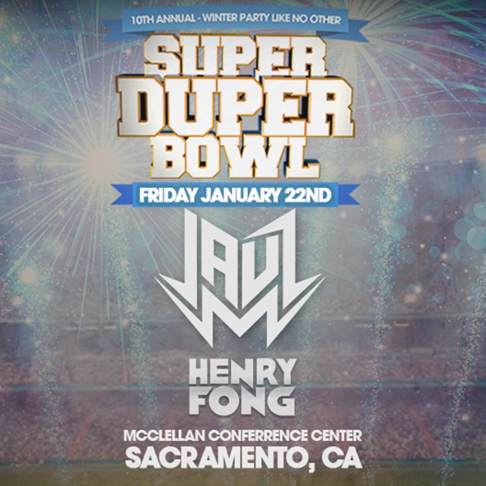 SuperDuperBowl10 w/ JAUZ & Henry Fong