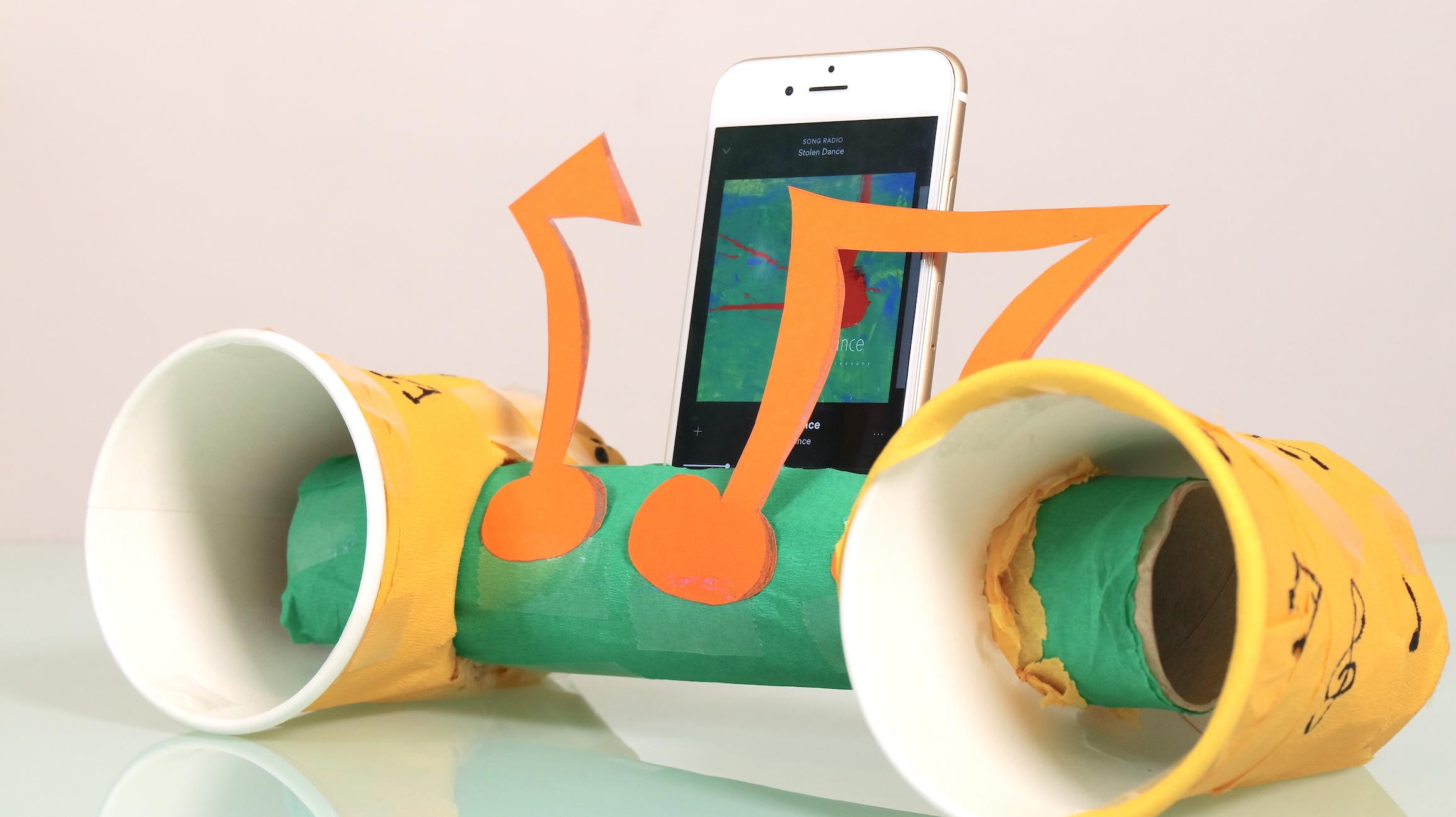 Paper Roll Speaker