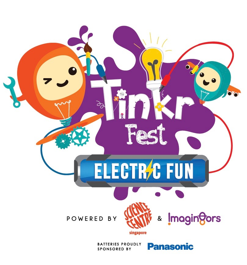 Tinkr Fest Electric Fun Logo