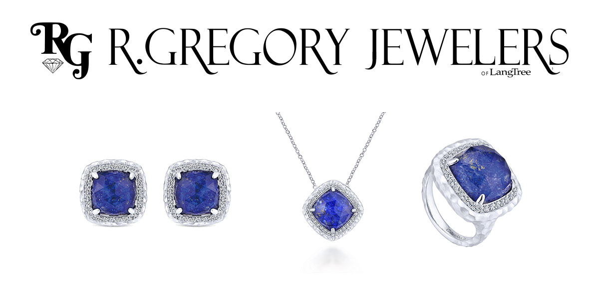 Lapis set by R Gregory Jewelers