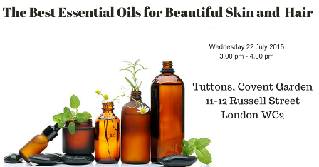Essential Oils  for beautiful skin and hair