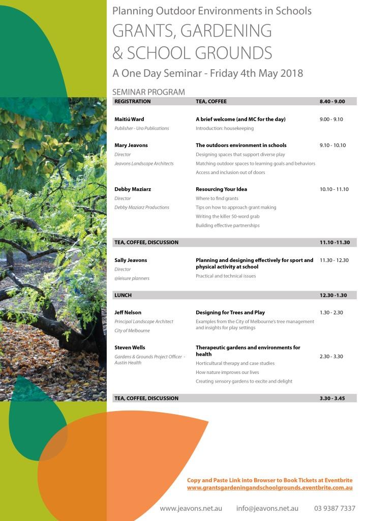 Jeavons Seminar Program Page 2