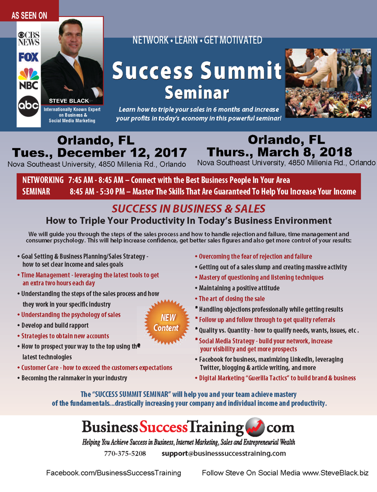 Success Summit Seminar