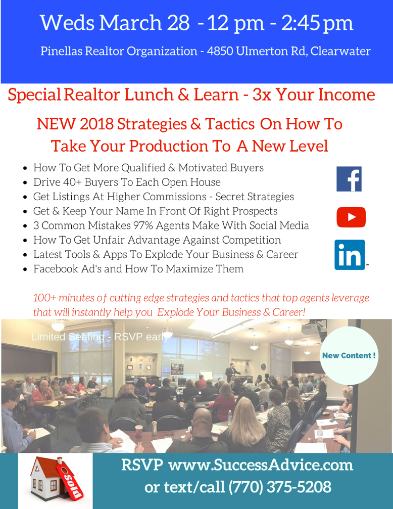 RSVP Lunch & Learn