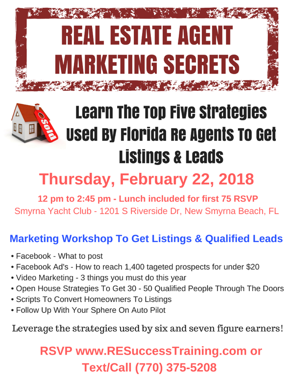 RSVP - Free Realtor Training
