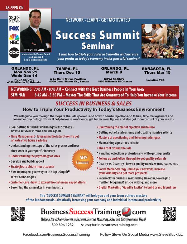 Success Summit TampaDec 15