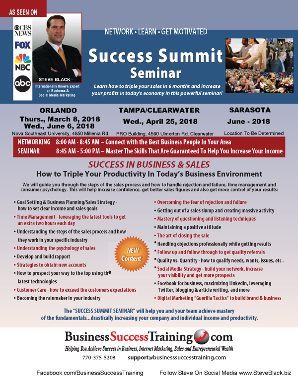 Success Summit 2018
