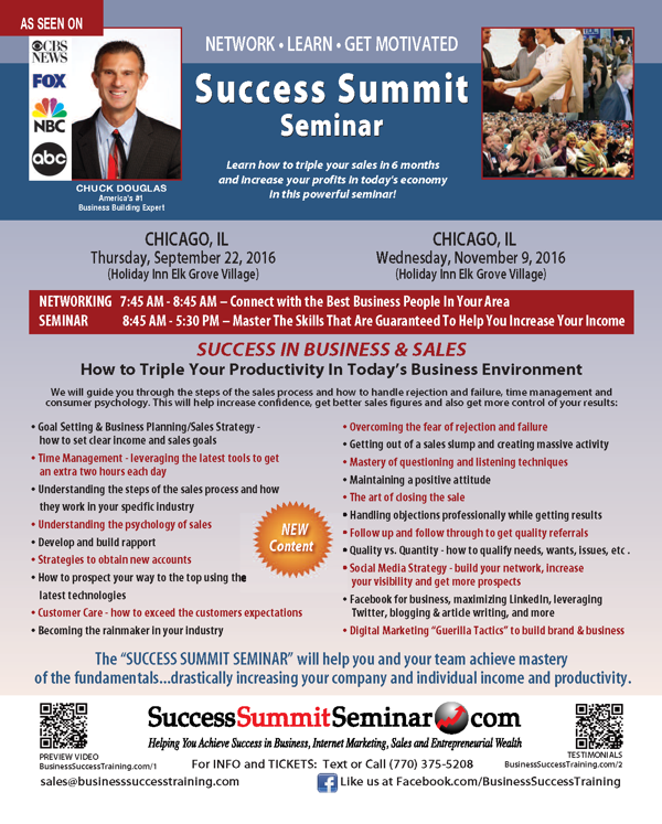 Success Summit Chicagoland