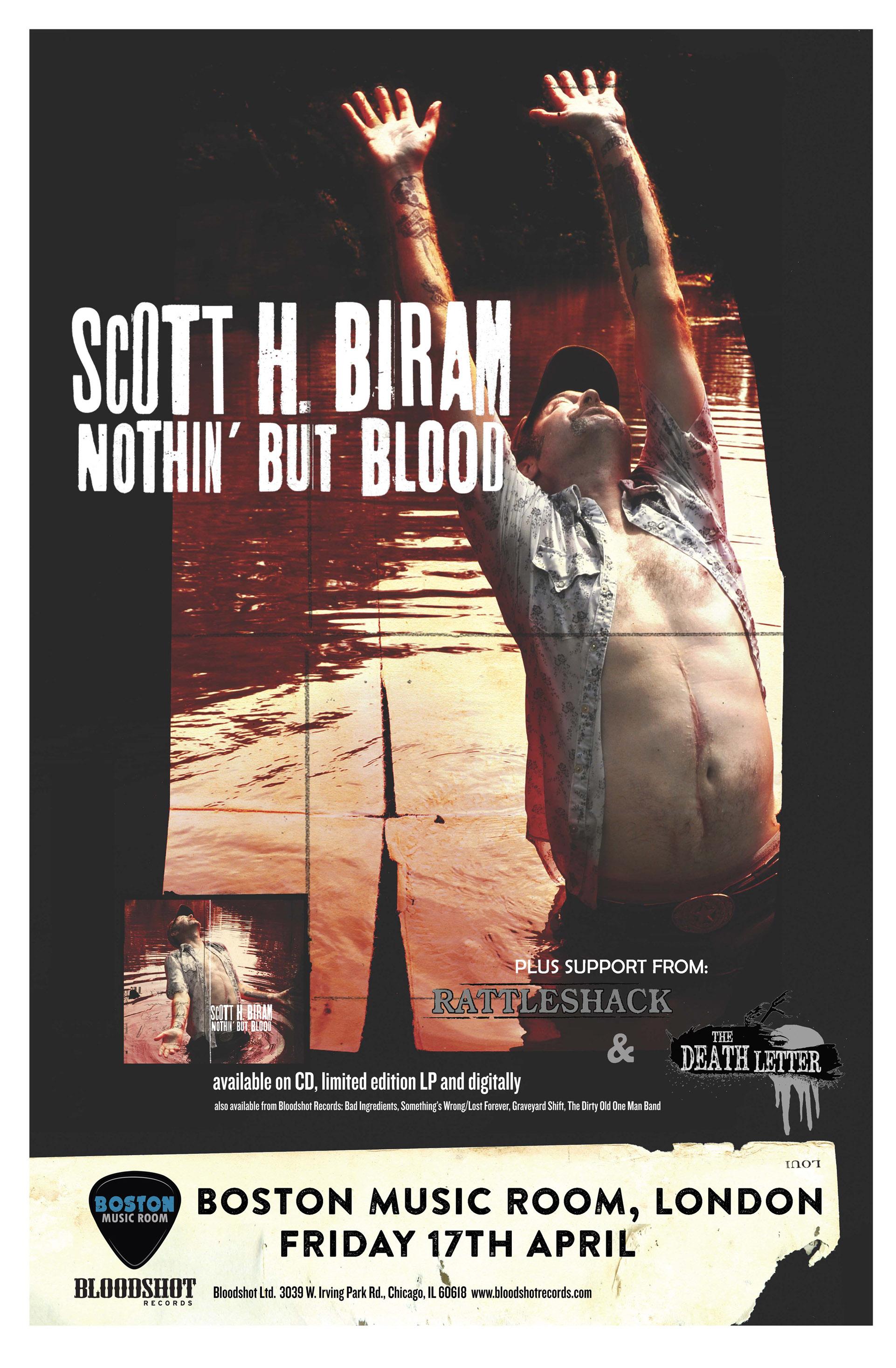 scott biram poster