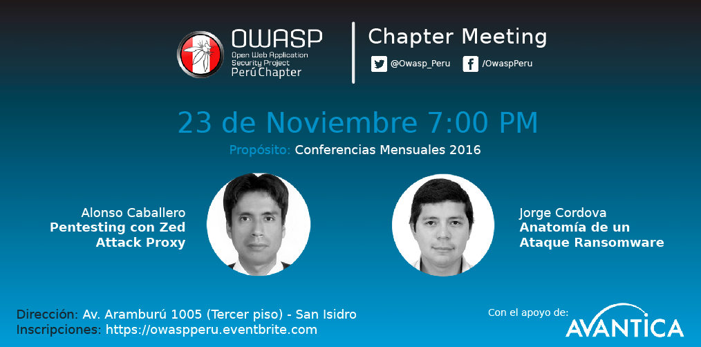 owasp peru chapter meeting