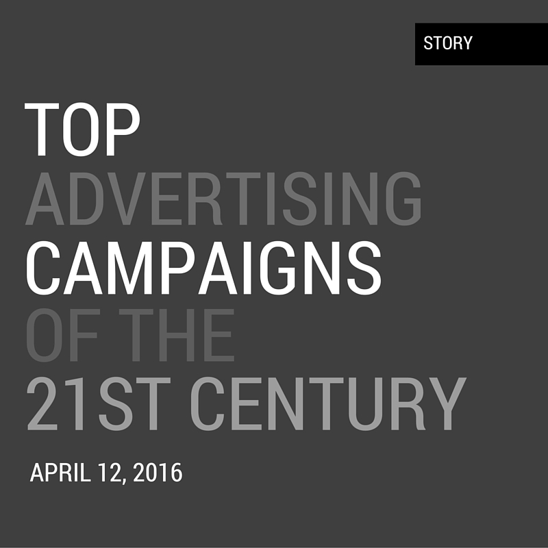 top advertising campaigns After some more recent campaigns check out our top ten marketing campaigns of 2017 2016 was a year i think that's probably the best we can say about it it had exactly the right amount of.