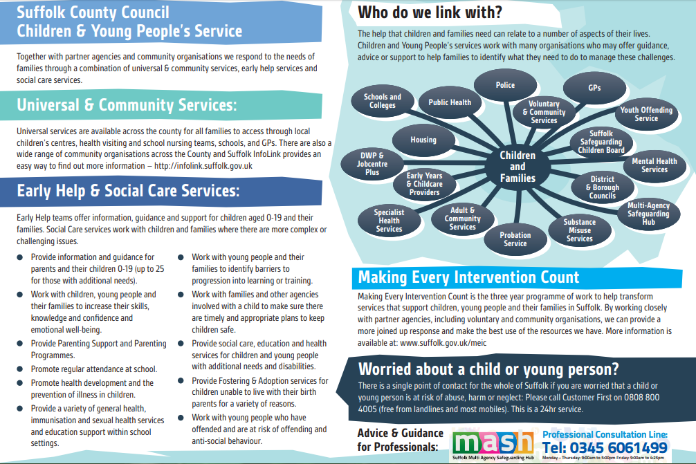 Suffolk County Council Children and Young People's Services