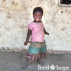 Preschool child - M'nima Village Malawi
