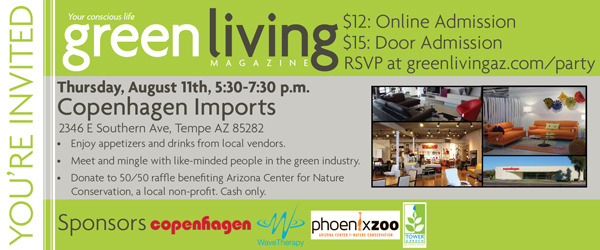 Green Living August Issue Launch Party Tickets Thu Aug 11 2016 At 5 30 Pm Eventbrite