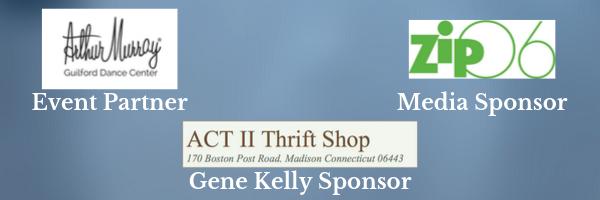 2019 Event Partner, Media Sponsor, Gene Kelly Gala Sponsor