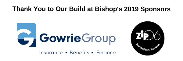 Build at Bishop's 2019 Sponsors