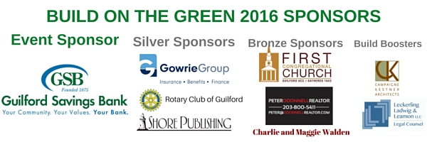 Build on the Green Sponsors 2016