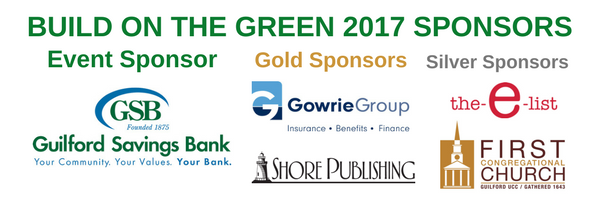 Build on the Green 2017 Sponsors