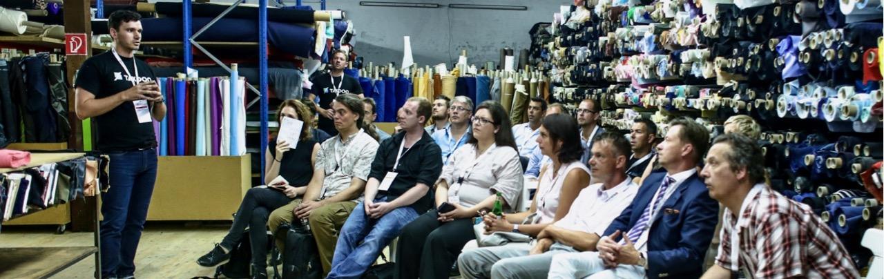 Workshop im Lager eines Händlers gibt es nur beim #tdoh18