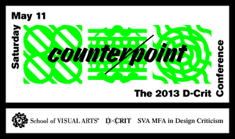 MFA Design Criticism, School of Visual Arts, http://dcrit.sva.edu