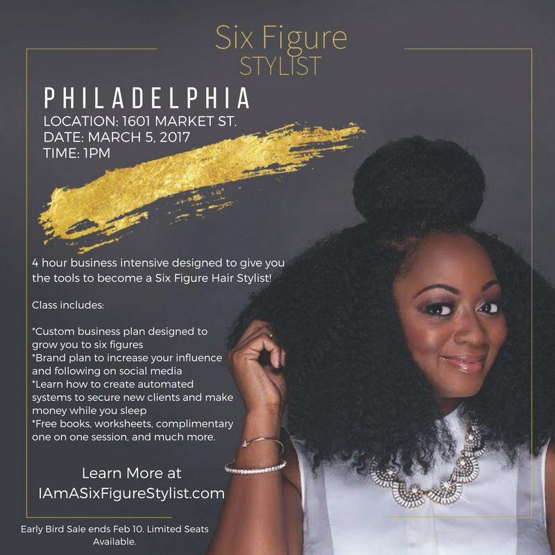 philly hair stylist tour