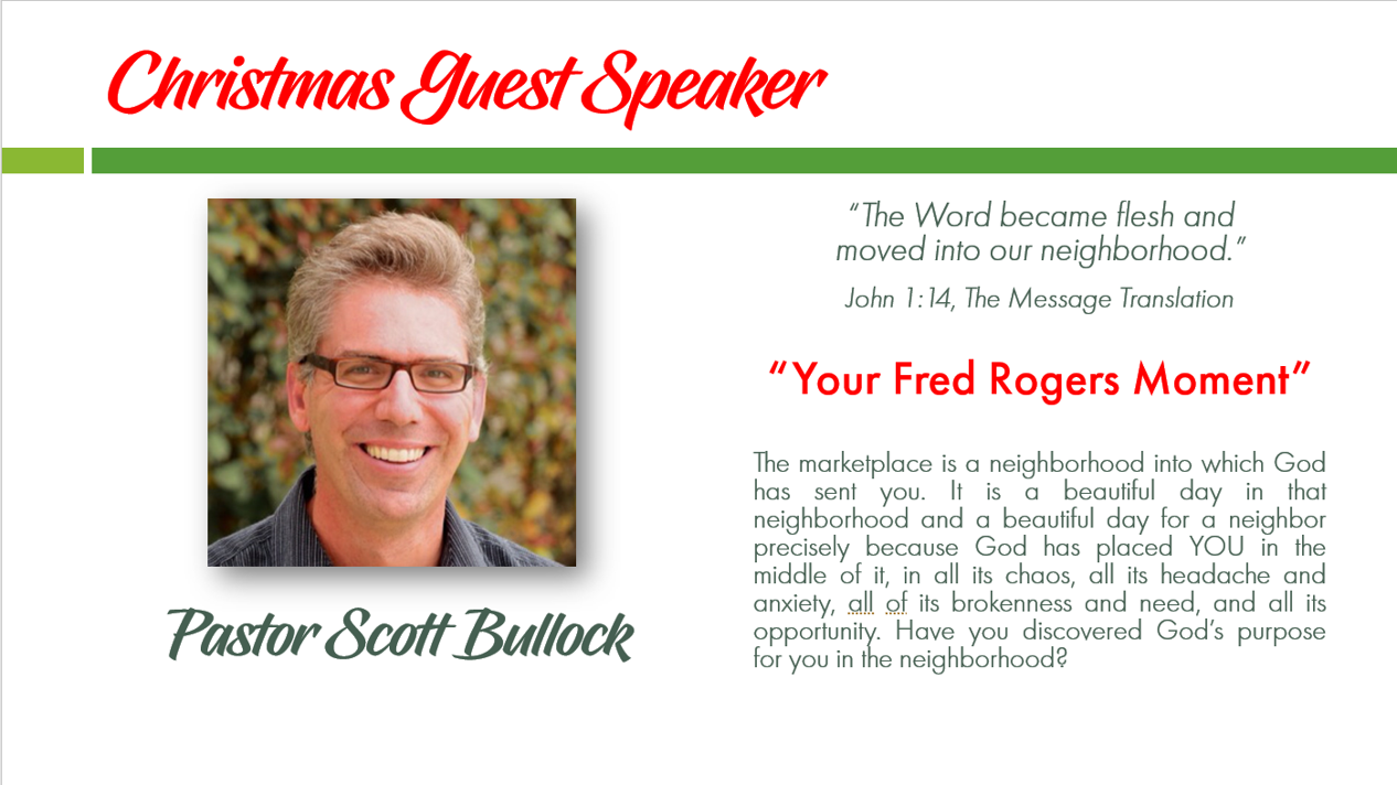 Guest Speaker Scott Bullock