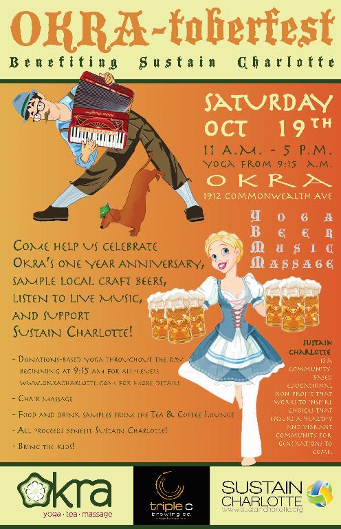 OKRA-toberfest poster