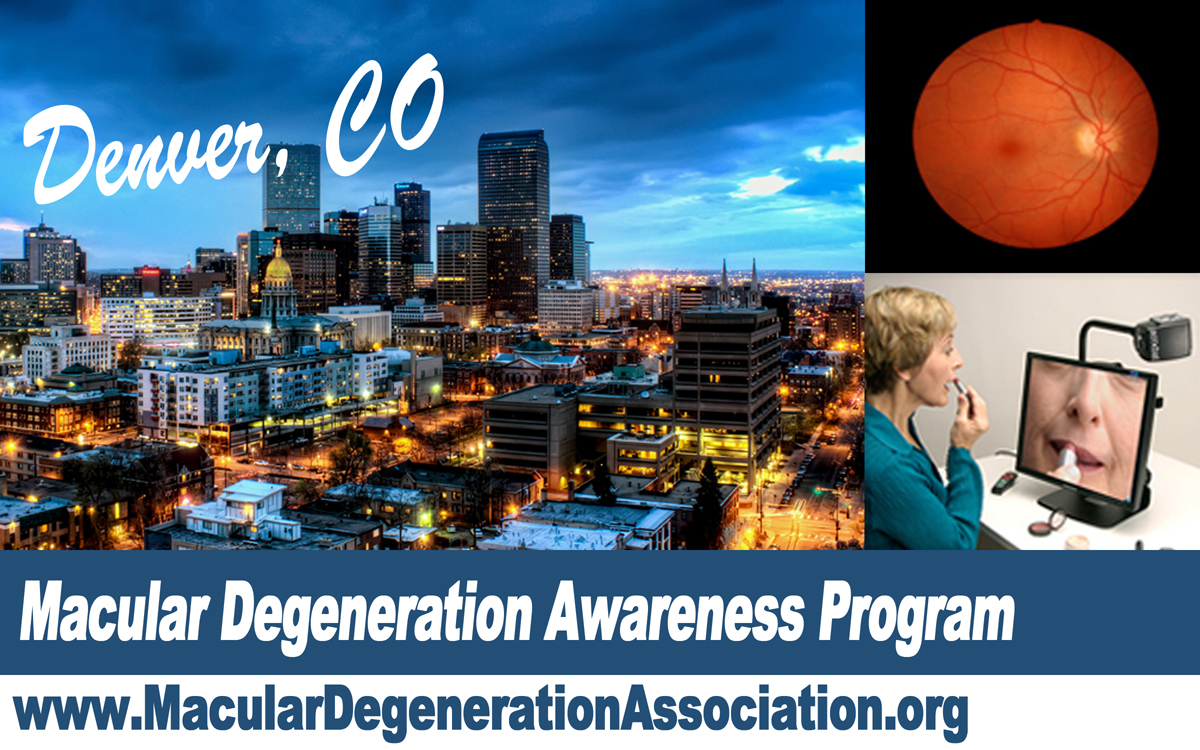 macular degeneration awareness program Denver CO