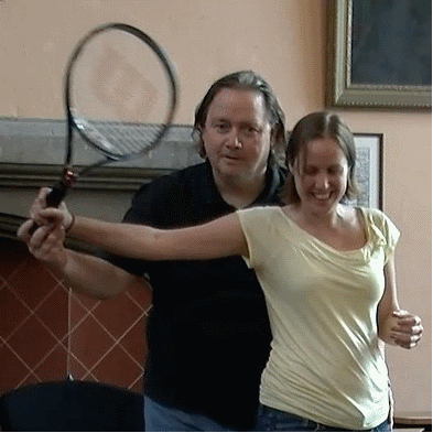 An Alexander Technique lesson on tennis with Don Weed