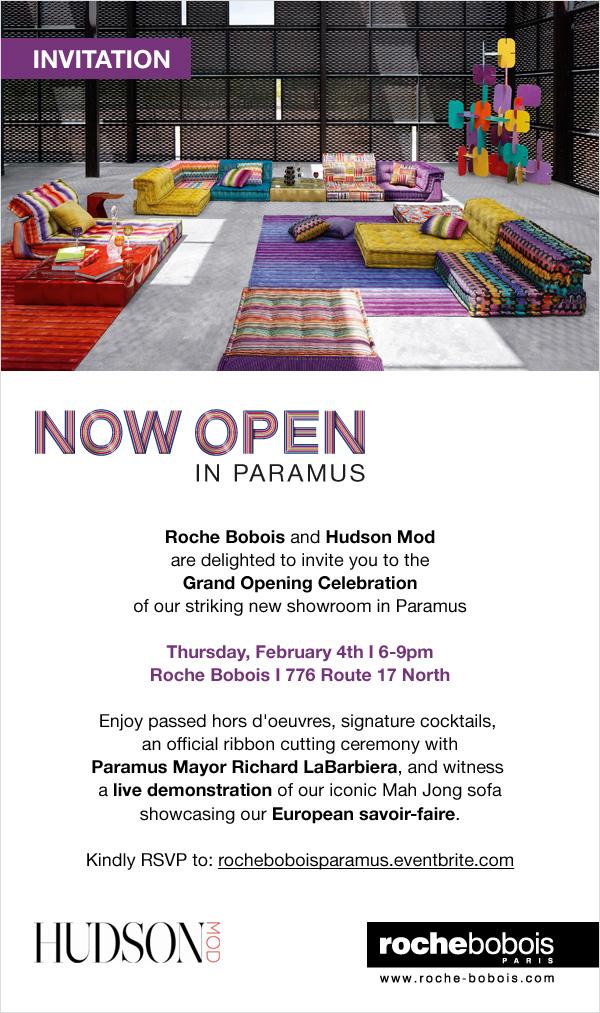 Grand Opening Paramus Invitation