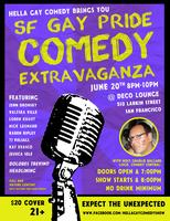 San Francisco Gay Pride Comedy Show 2012