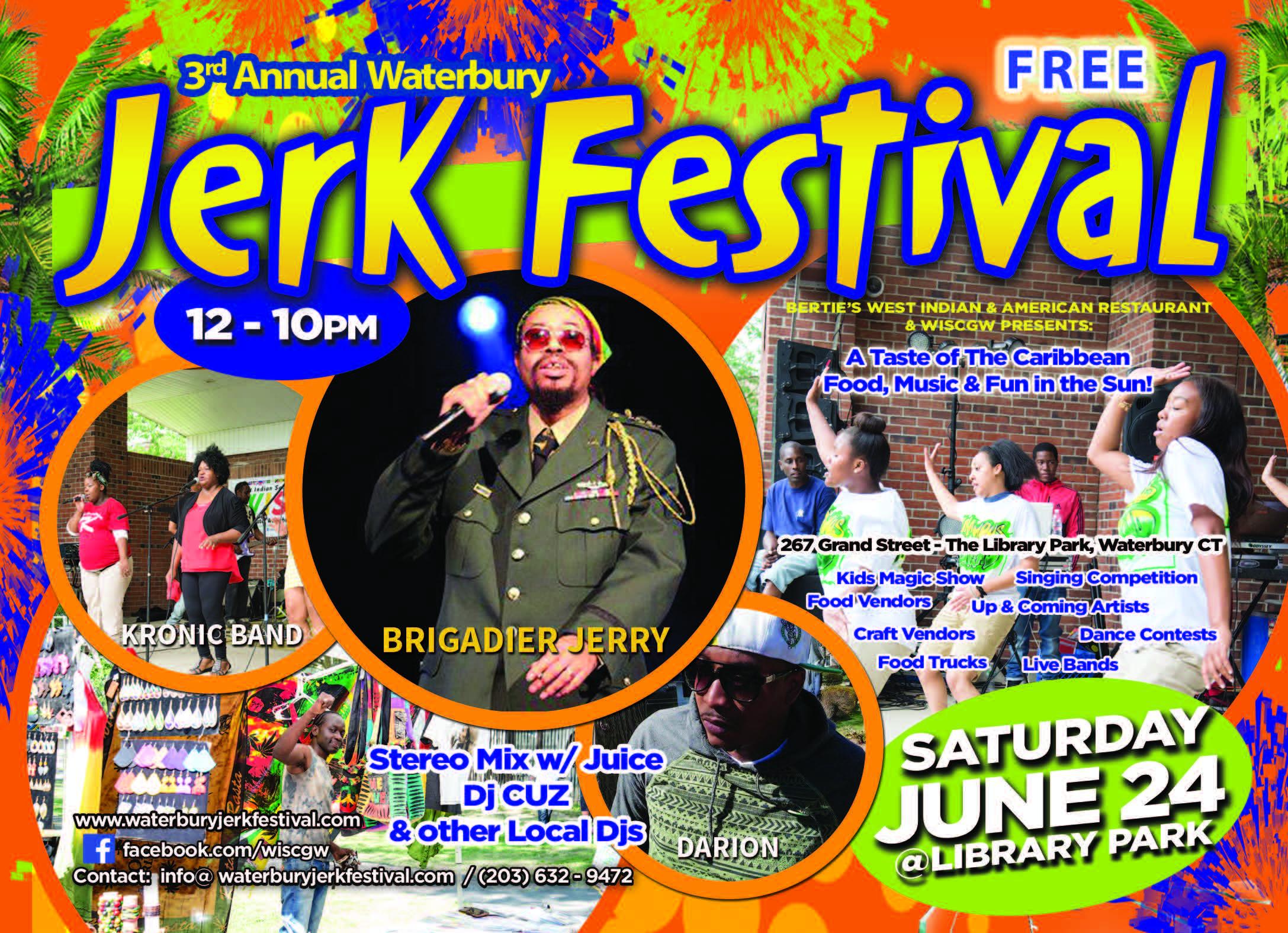 2017 Waterbury Jerk Festival