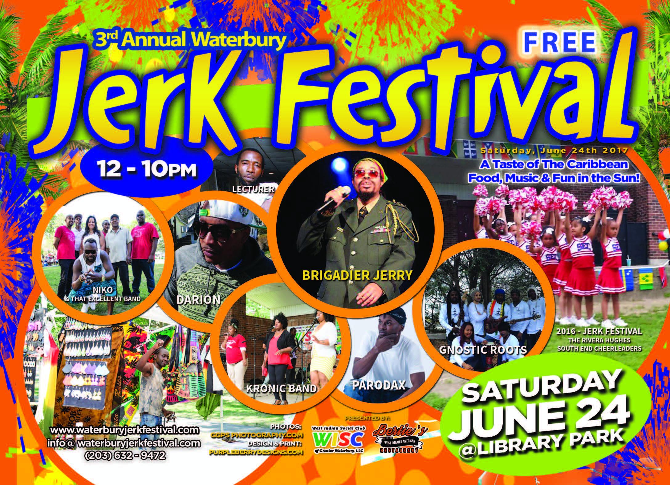 2017 Waterbury Caribbean Jerk Festival