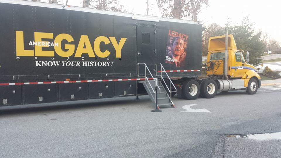 American Legacy Know Your History Mobile Truck