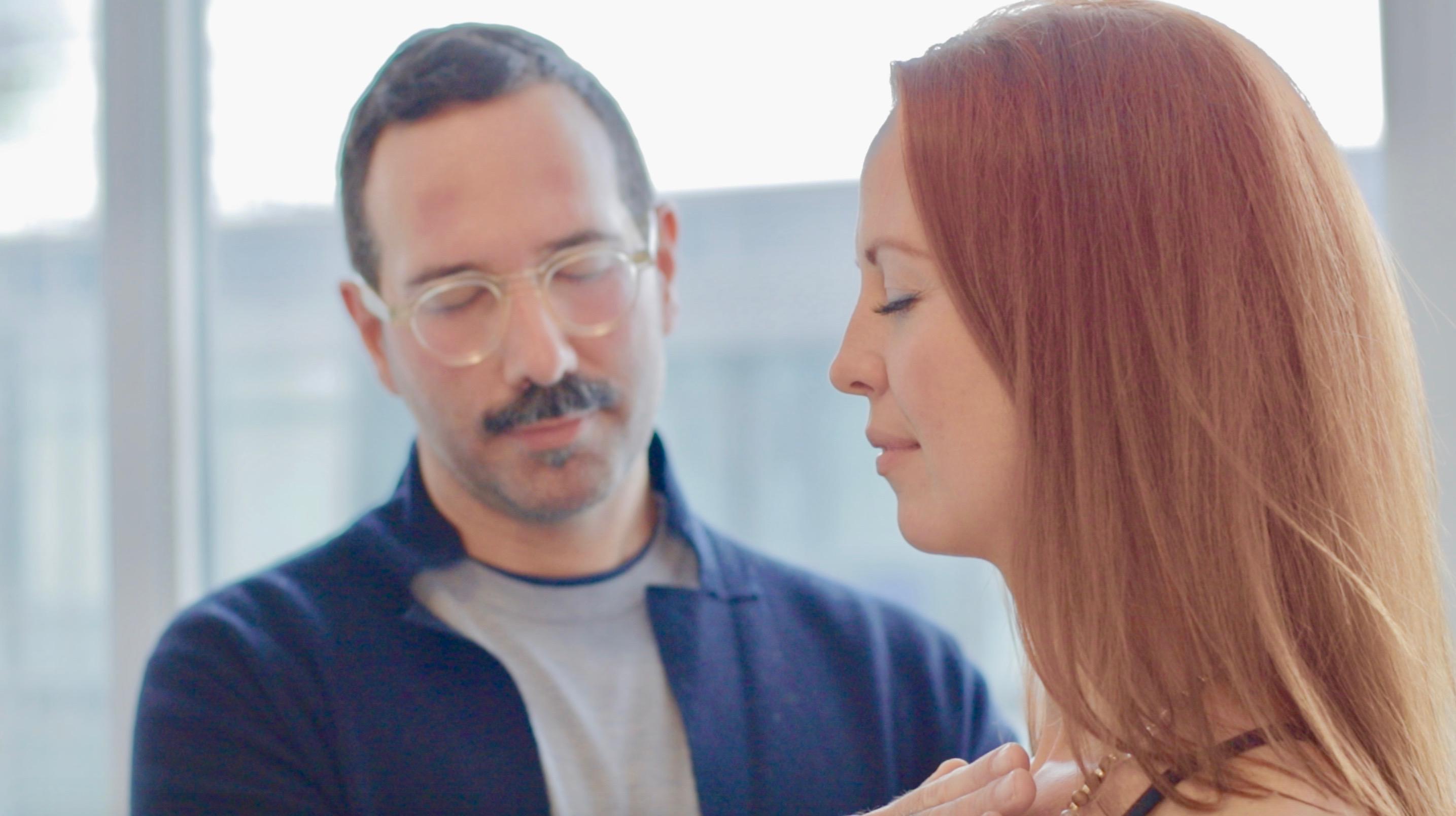 reiki healing practice Filippo Conte & Stephanie Kittell