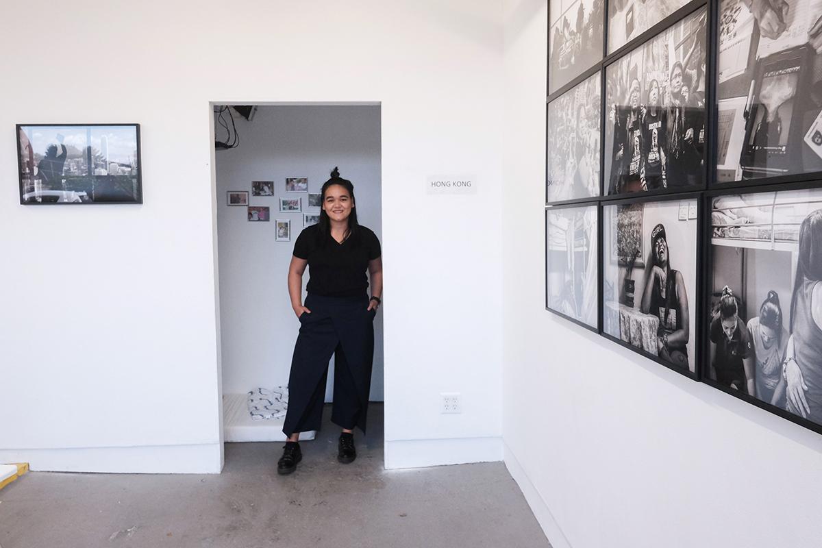 Xyza Cruz Bacani, We Are Like Air, 2018 (photo by Nicholas Papananias)