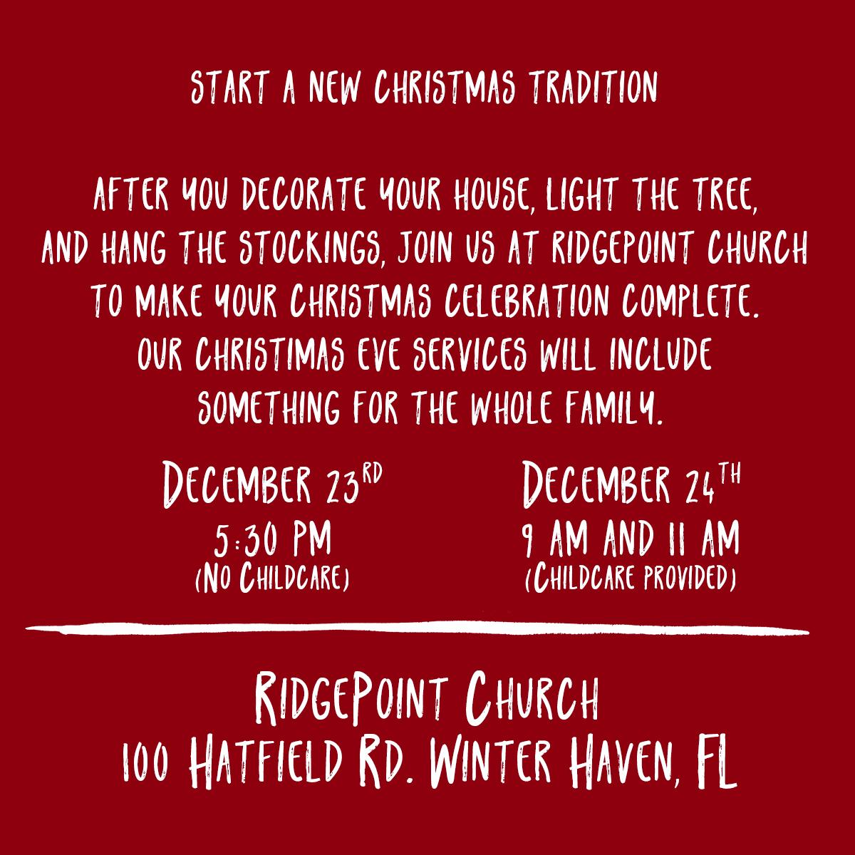 Christmas on Hatfield Description