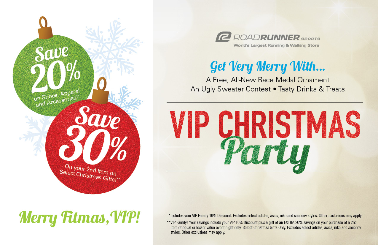 Road Runner Sports VIP Family Christmas Party