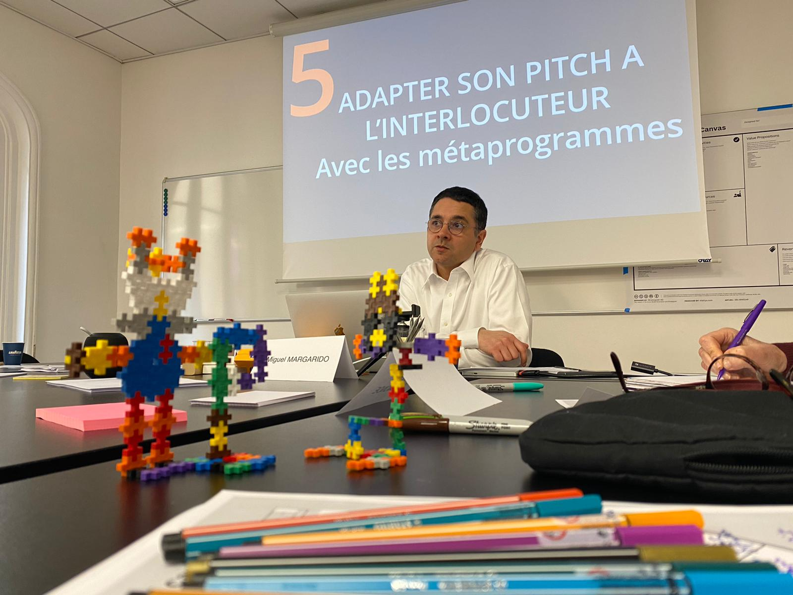 Métaprogrammes Pitch Story Shapers