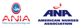 Sponsors' logos: A N I A and American Nurses Association