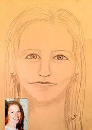 Spirit Drawing by Kristi Johnston