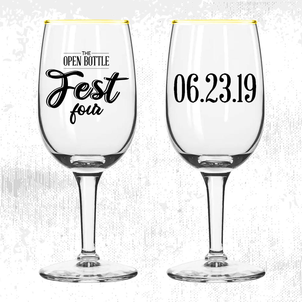 TOB Fest 4 glassware