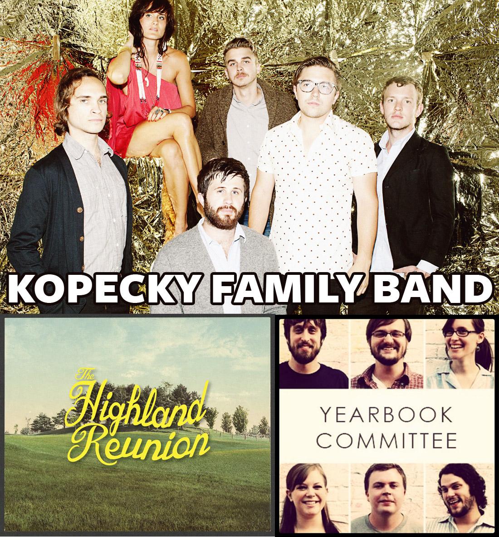 Kopecky Family Band Terre Haute The Verve