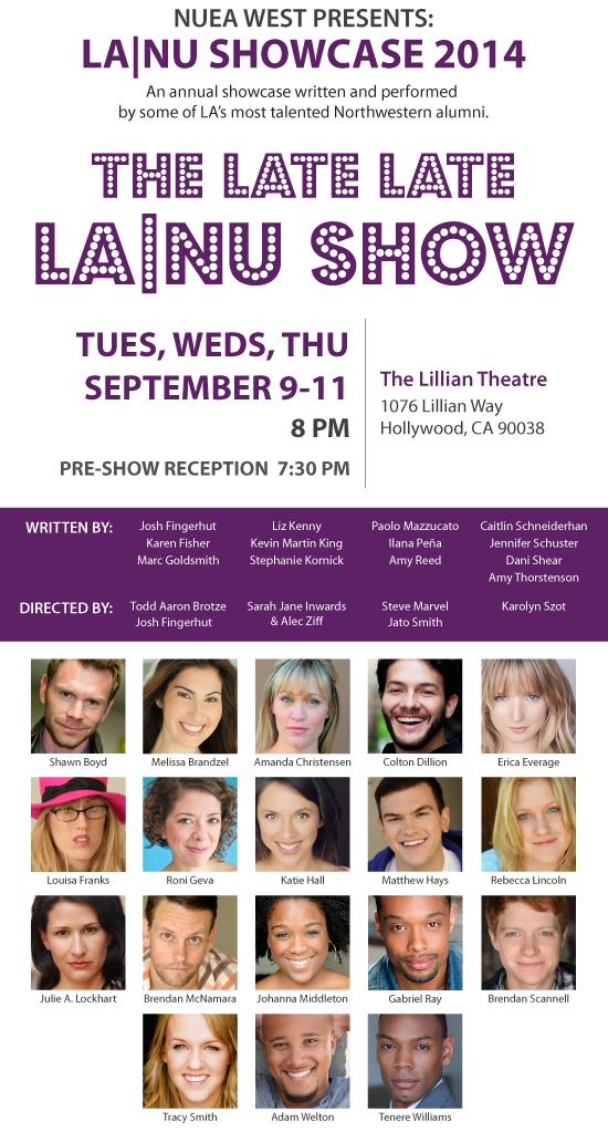 The Late Late LA|NU Show